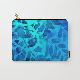 Golden Seaweed #society6 #spring #bluedecor Carry-All Pouch