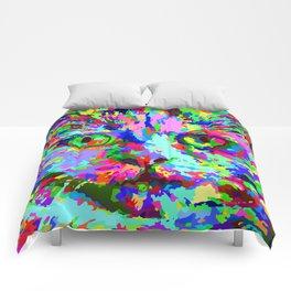 Pop Art Kitten Comforters