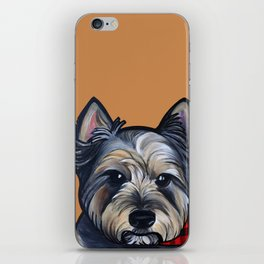 Rigoletto the cairn terrier iPhone Skin