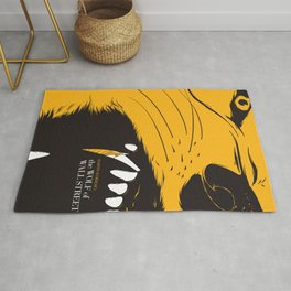 The Wolf of Wall Street | Fan Poster Design Rug