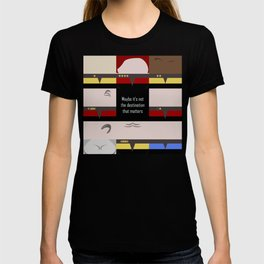 Maybe it's not the Destination that matters - square - Star Trek: Voyager VOY  trektangle minimalist T-shirt
