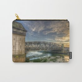 Treptower bridge sunset Carry-All Pouch