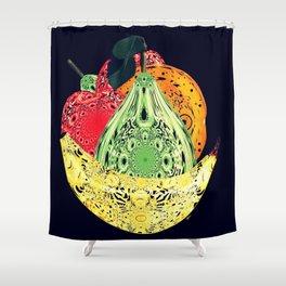 No GMOs Shower Curtain