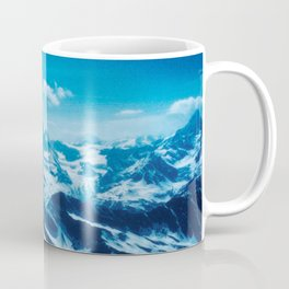 Winter Wonderland up in the Mountains #1 #art #society6 Coffee Mug