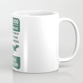 Dino Doo Doo Coffee Mug
