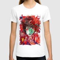 bob dylan T-shirts featuring Bob Dylan by Irmak Akcadogan