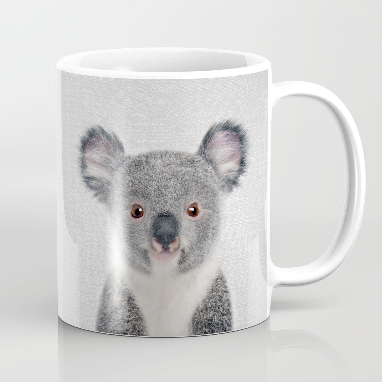 Baby Koala Colorful Coffee Mug By Galdesign Society6