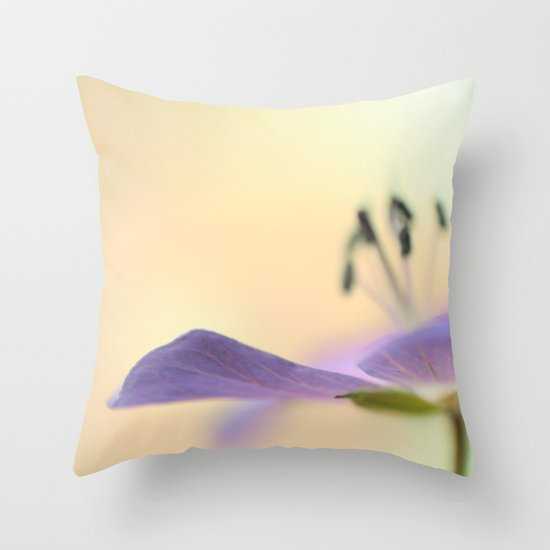 Glorious Summer Throw Pillow