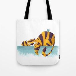 Sleeping Tiger Tote Bag