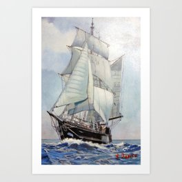 Asgard II Art Print