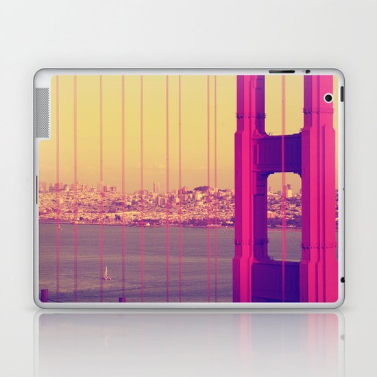 Golden Gate Into San Francisco Laptop & iPad Skin
