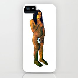 Gauguin Words of the Devil 1892 iPhone Case