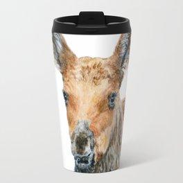 Little Moose by Teresa Thompson Travel Mug