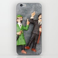 tintin iPhone & iPod Skins featuring Tintin Toy by Cristina Ortiz Photo
