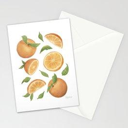 Oranges Light Version Stationery Cards