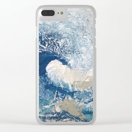 The Great Wave Clear iPhone Case