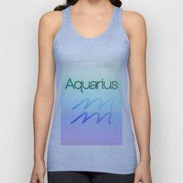 Aquarius Gradient Two Unisex Tank Top