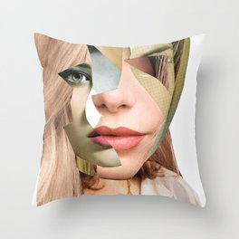 Another Portrait Disaster · Fragments 4 Throw Pillow