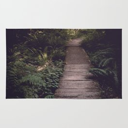 Pacific Northwest Forest Trail Rug