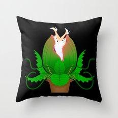 Audrey II Throw Pillow