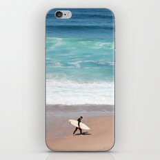 Lonely Surfer iPhone & iPod Skin