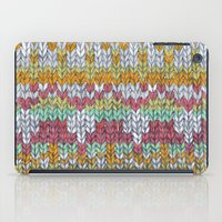 knitting iPad Cases featuring KNITTING #3 by NADEZDA FAVA