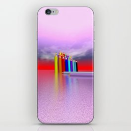 time to draw a picture -2- iPhone Skin
