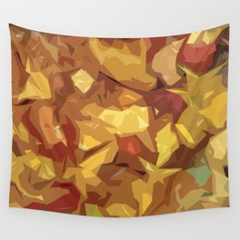 Fall colors pattern Wall Tapestry