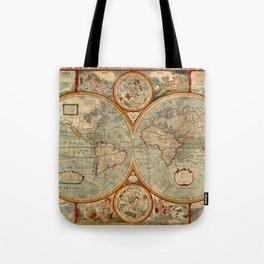 Vintage Celestial Map 1626 Tote Bag