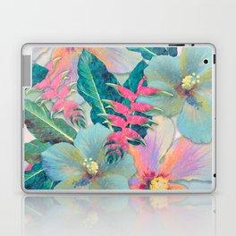 Aqua Ginger Alohas Laptop & iPad Skin