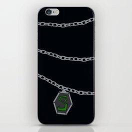 Slytherin Locket Horcrux iPhone Skin