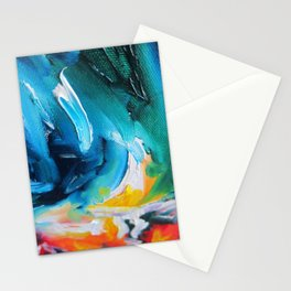 Oasis on Fire Stationery Cards