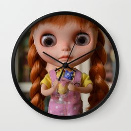 Robin - Oh! Ice cream Wall Clock