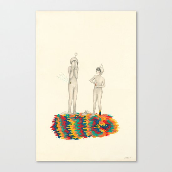 So You Can Stand Up For Me Canvas Print