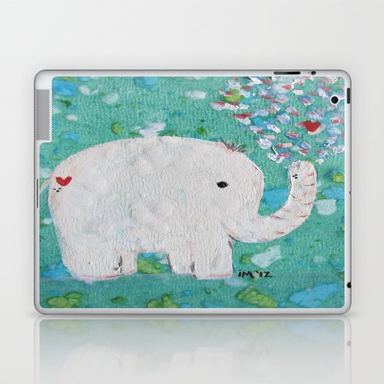 Elephants Love Laptop & iPad Skin