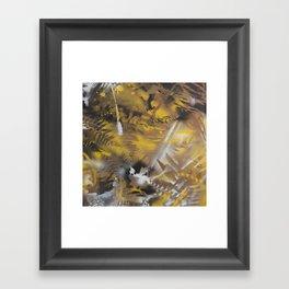 vermont camoflague Framed Art Print