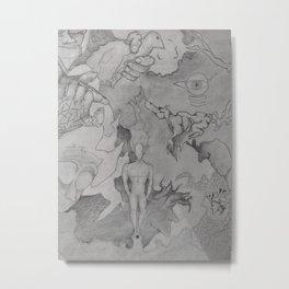 Strange Scenario Metal Print