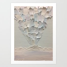 Painted Mountain Kaleidoscope of Frost Art Art Print