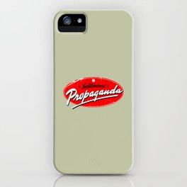 Subliminal Propaganda iPhone Case