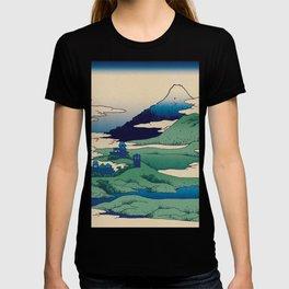 Doctor Who Mount Fuji - Mont Fuji - Tardis T-shirt