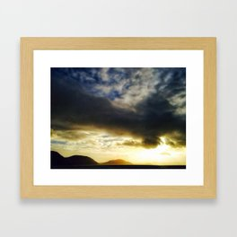 The Wild Coast Framed Art Print