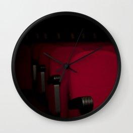 Cinema theater stage seats 02 Wall Clock