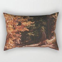 Snow Summit Trail, Big Bear, California  Rectangular Pillow