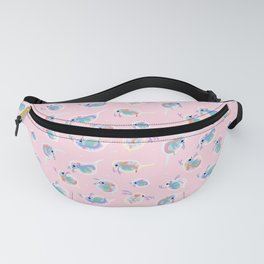 Daphnia - pink Fanny Pack