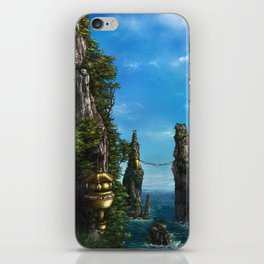 Cliff dwellings iPhone Skin