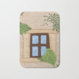 window Bath Mat
