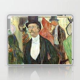 """Henri de Toulouse-Lautrec """"Monsieur Henri Fourcade au Bal de l'Opéra"""" Laptop & iPad Skin"""