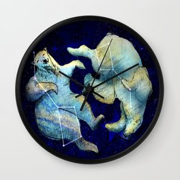 Great bear and little bear Wall Clock