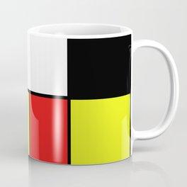 Mondrian #20 Coffee Mug