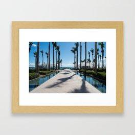 Dreamy Views, Key West, Waldorf Astoria Resort Framed Art Print